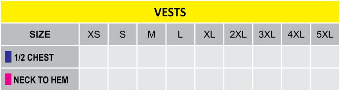 VestsSizing